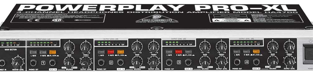 Предусилители Behringer HA4700 POWERPLAY PRO-XL