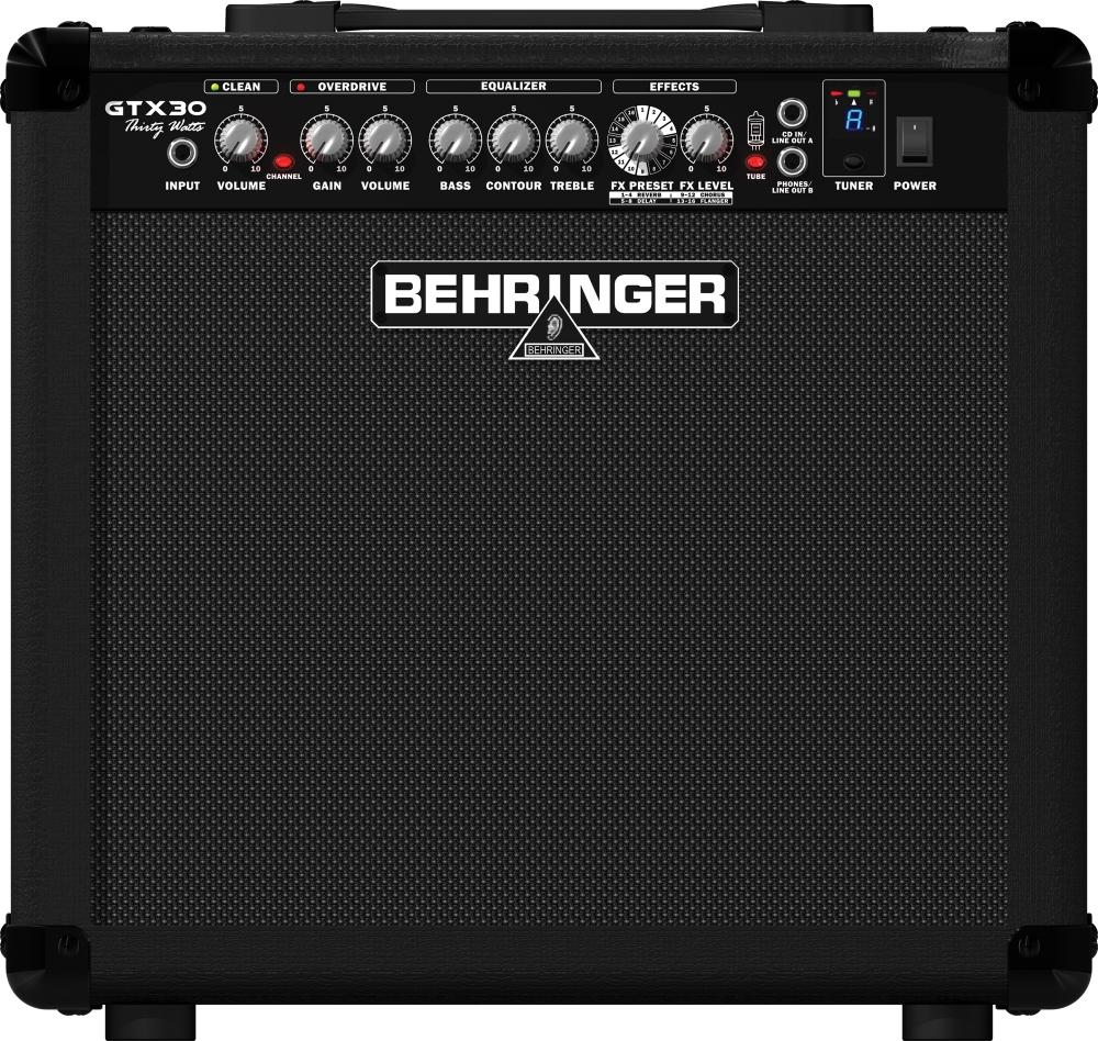 Усилители мощности Behringer GTX30
