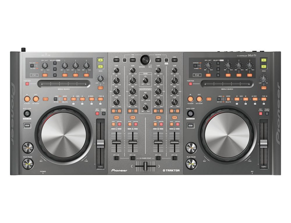 DJ-контроллеры Pioneer DDJ-T1
