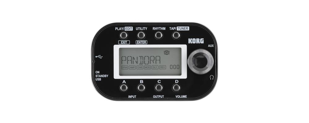 Эффекторы Korg Pandora Mini