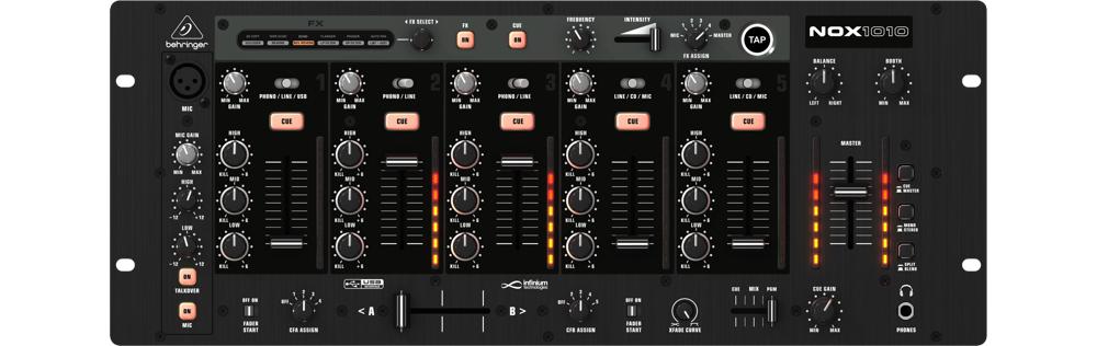 DJ-микшеры Behringer NOX1010