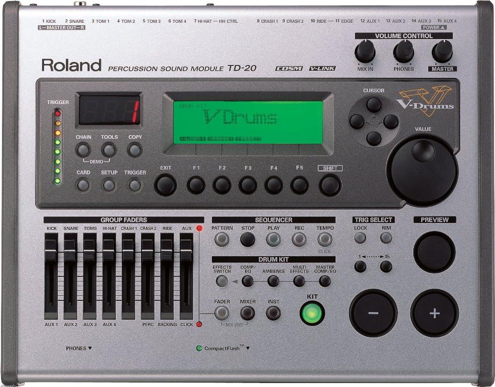 Drum-машины Roland TD-20
