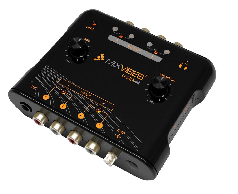 Звуковые карты MixVibes U-mix 44 usb