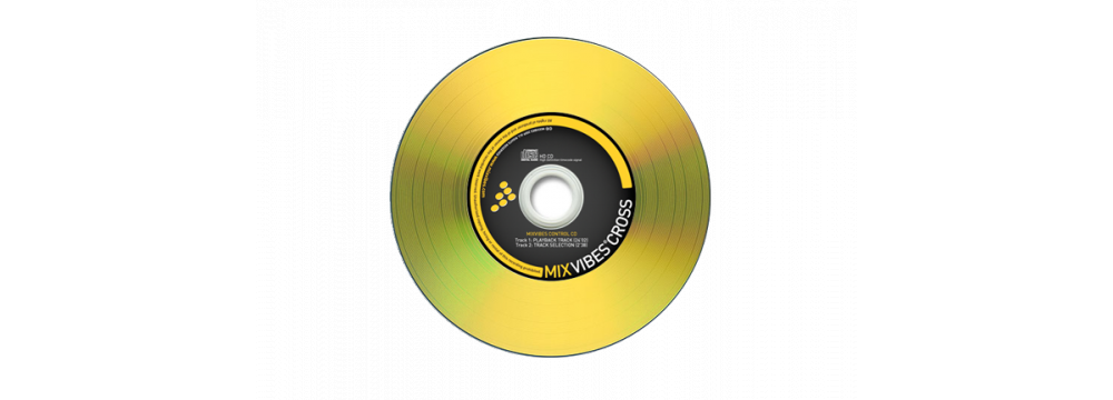 Пластинки с тайм-кодом MixVibes Control CD