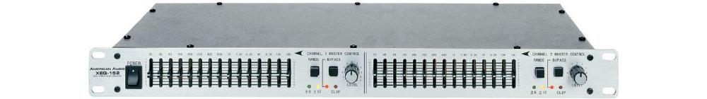Эквалайзеры American Audio XEQ-152