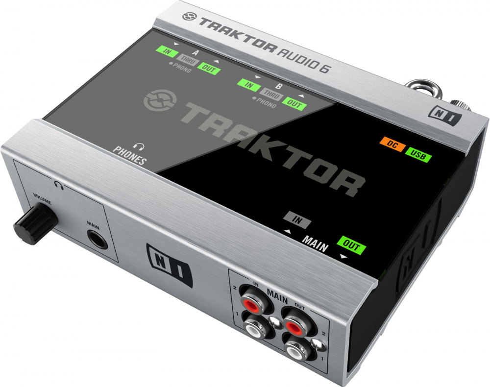 Звуковые карты Native Instruments Traktor Audio 6