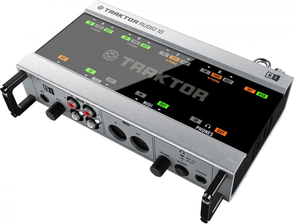 Звуковые карты Native Instruments Traktor Audio 10