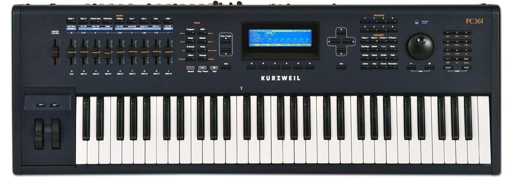 Синтезаторы и рабочие станции Kurzweil PC361