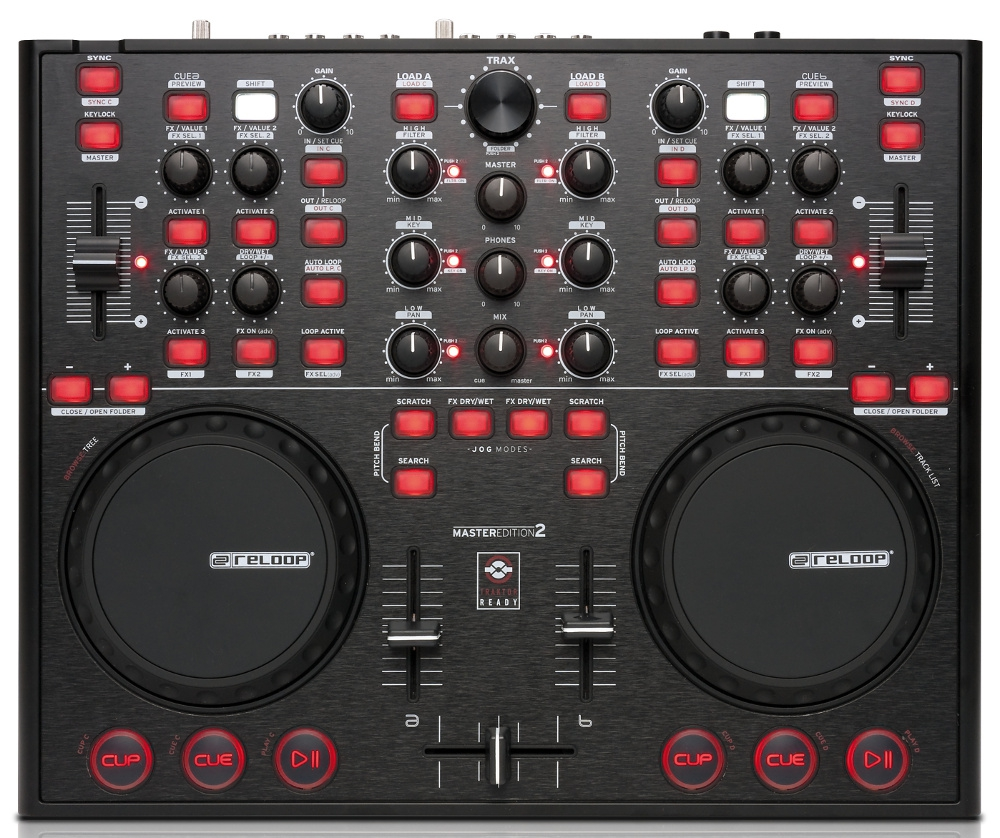 DJ-контроллеры Reloop Digital Jockey 2 Master Edition