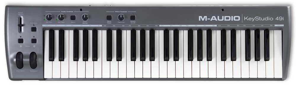 Midi-клавиатуры M-Audio KeyStudio 49i