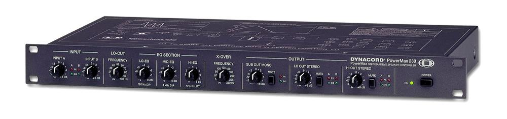Кроссоверы DYNACORD PowerMax 230