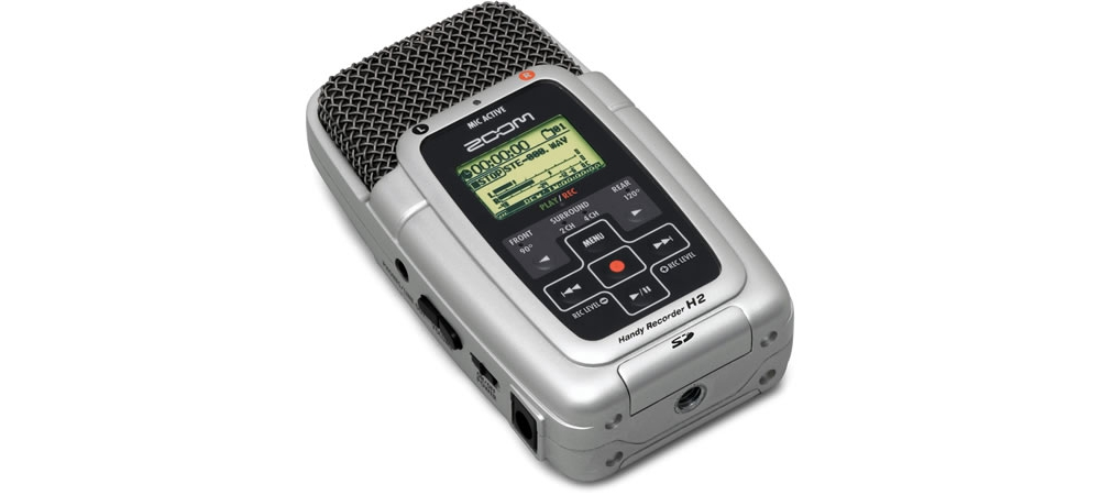 Аудио конверторы, рекордеры Zoom H2