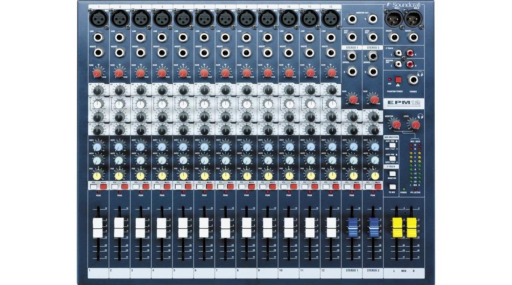 Микшерные пульты Soundcraft EPM12
