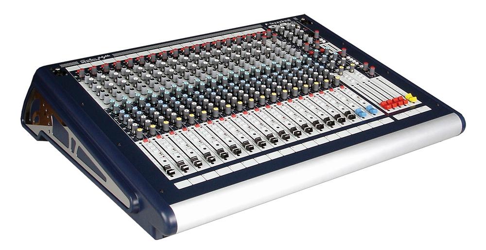 Микшерные пульты Soundcraft GB2 16ch