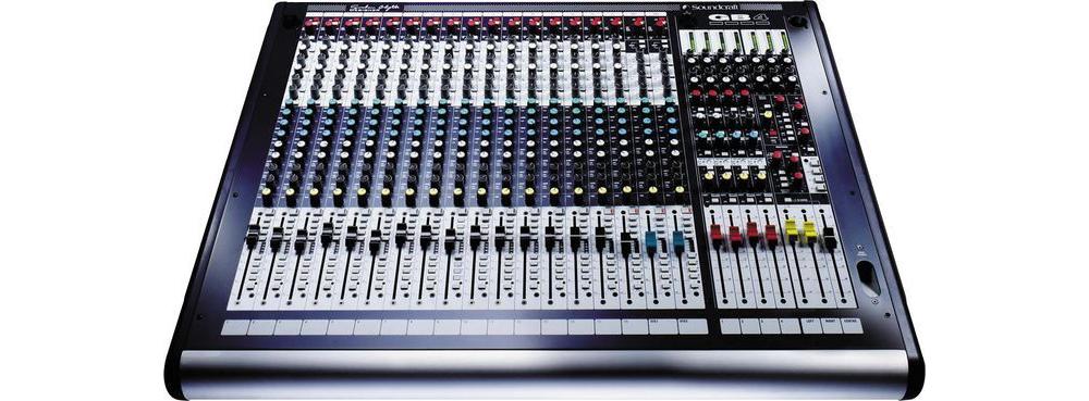Микшерные пульты Soundcraft GB4 16ch