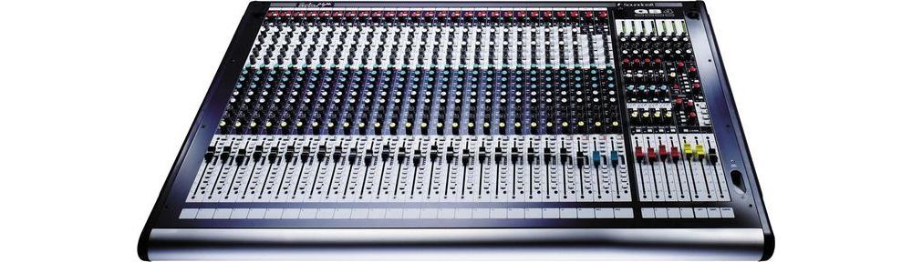 Микшерные пульты Soundcraft GB4 24ch