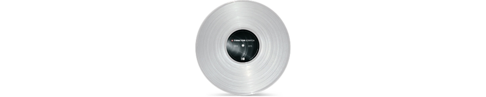 Пластинки с тайм-кодом Native Instruments Traktor Scratch Pro Control Vinyl Clear