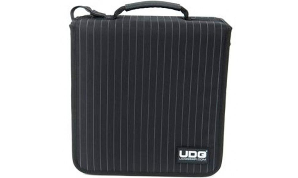 Папки для дисков UDG CD Wallet 128 Black/Grey Stripe