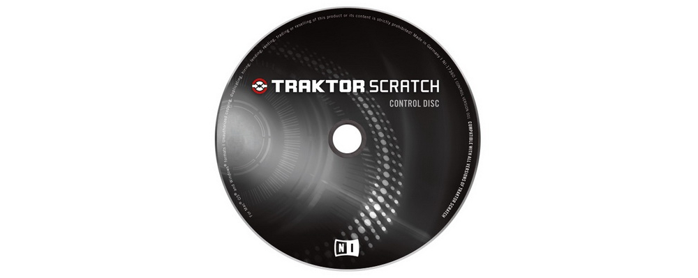 Пластинки с тайм-кодом Native Instruments TRAKTOR SCRATCH PRO CONTROL CD