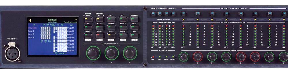 Процессоры эффектов DBX DriveRack 4800