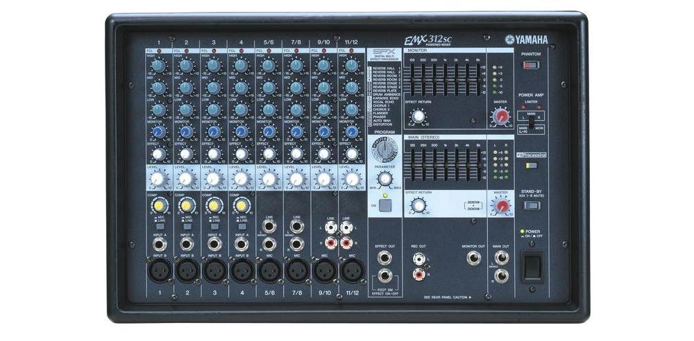 Микшерные пульты Yamaha EMX312SC