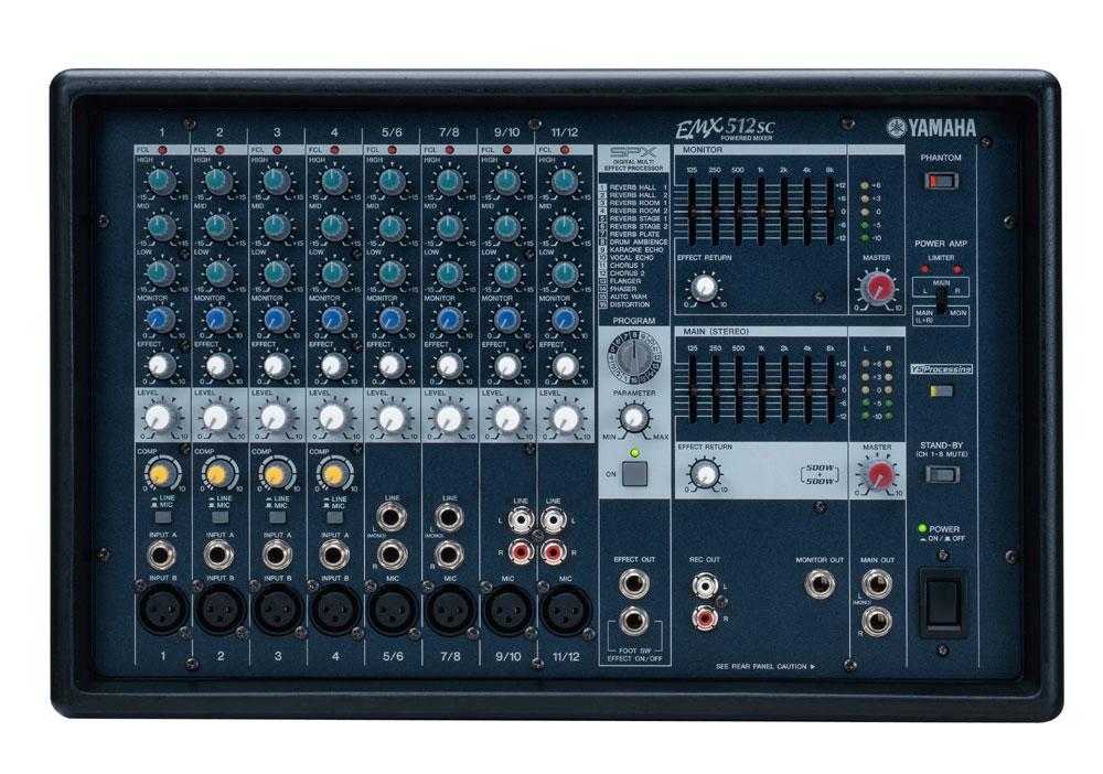 Микшерные пульты Yamaha EMX512SC