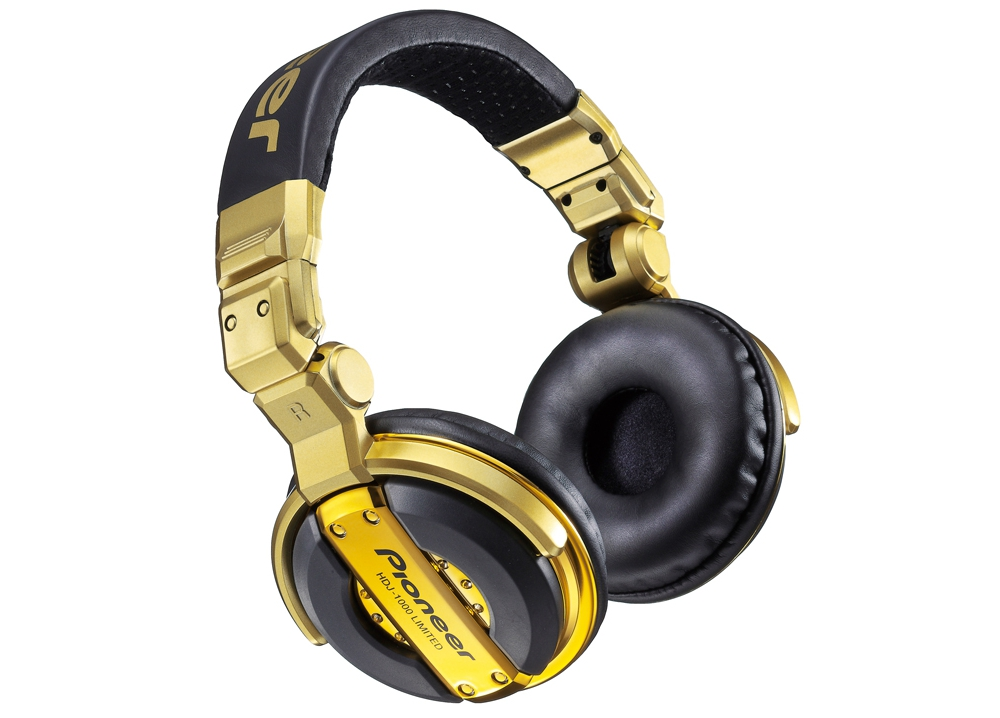 DJ-наушники Pioneer HDJ-1000 Gold