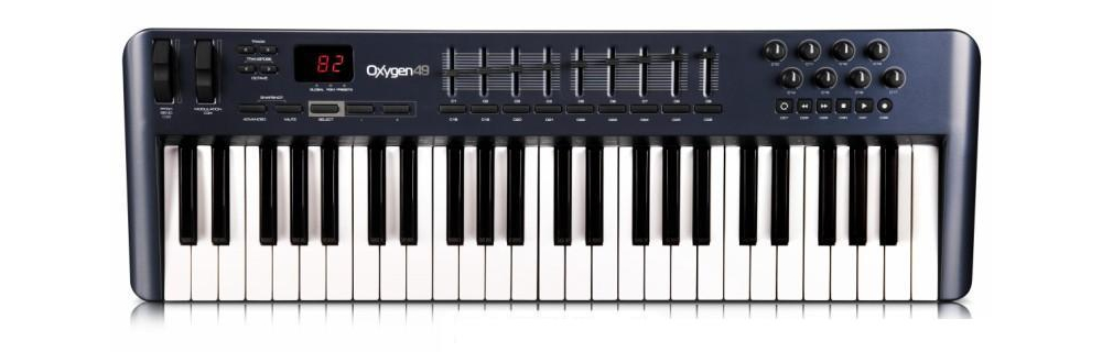 Midi-клавиатуры M-Audio Oxygen 49 MKIII
