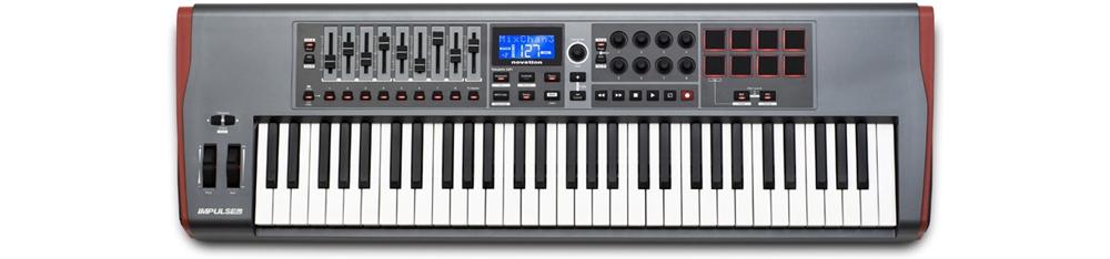 Midi-клавиатуры Novation Impulse 61