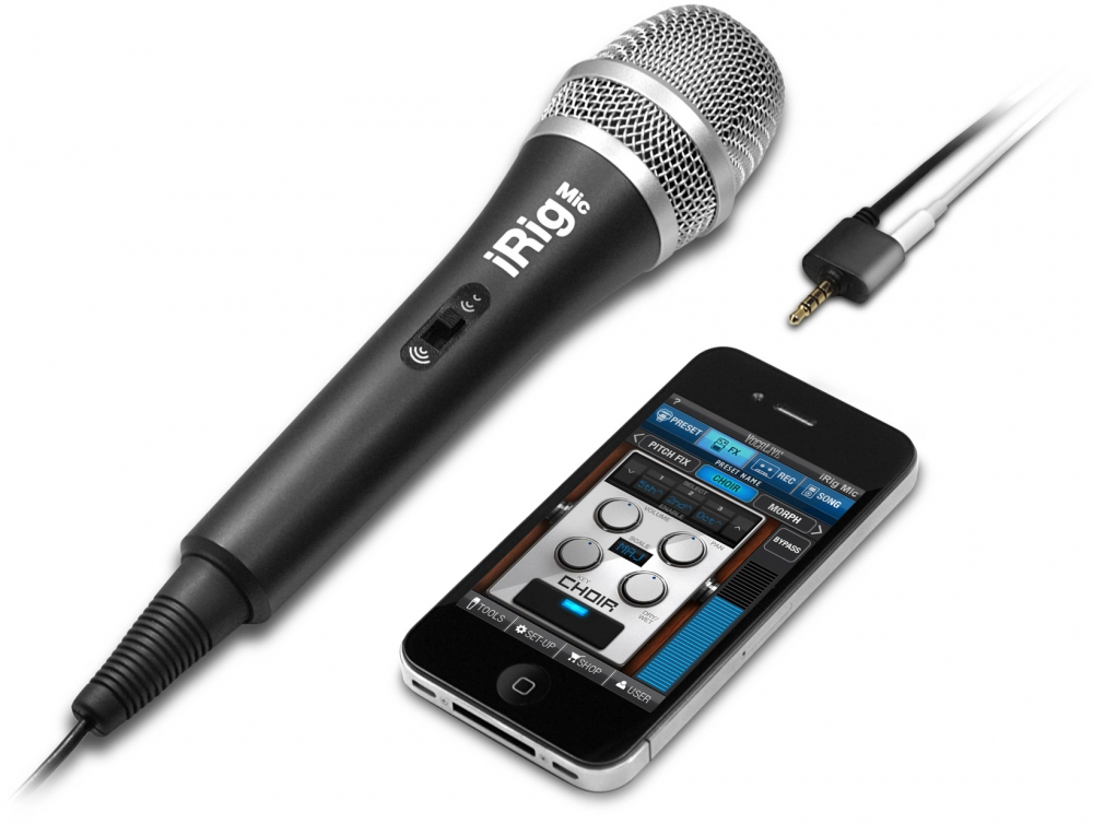 Apple accessories  IK Multimedia iRIG MIC