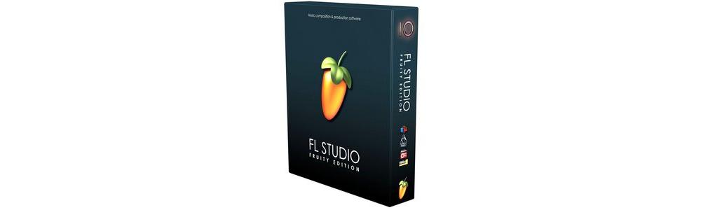 Программы для создания музыки FL STUDIO Fruity Edition v10