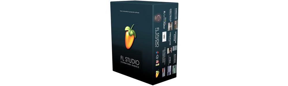 Программы для создания музыки FL STUDIO Signature Bundle v10