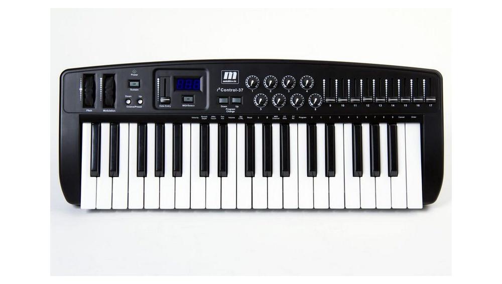 Midi-клавиатуры Miditech i2 Control-37 Black Edition