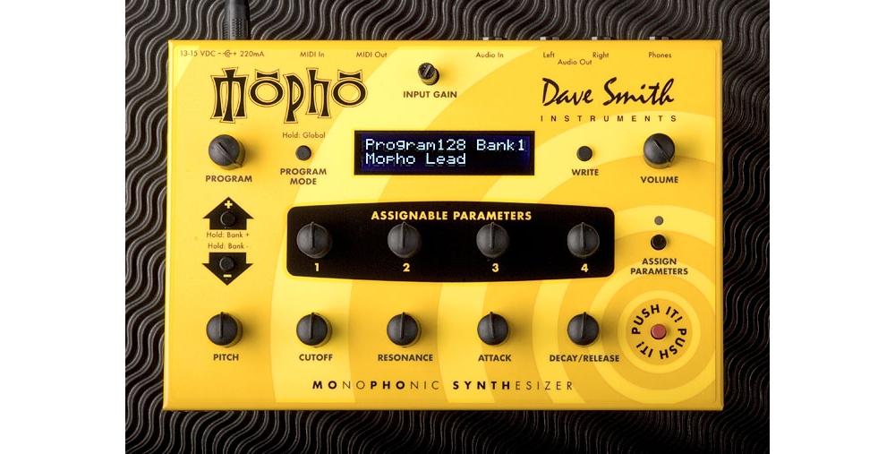 Синтезаторы и рабочие станции Dave Smith Instruments Mopho