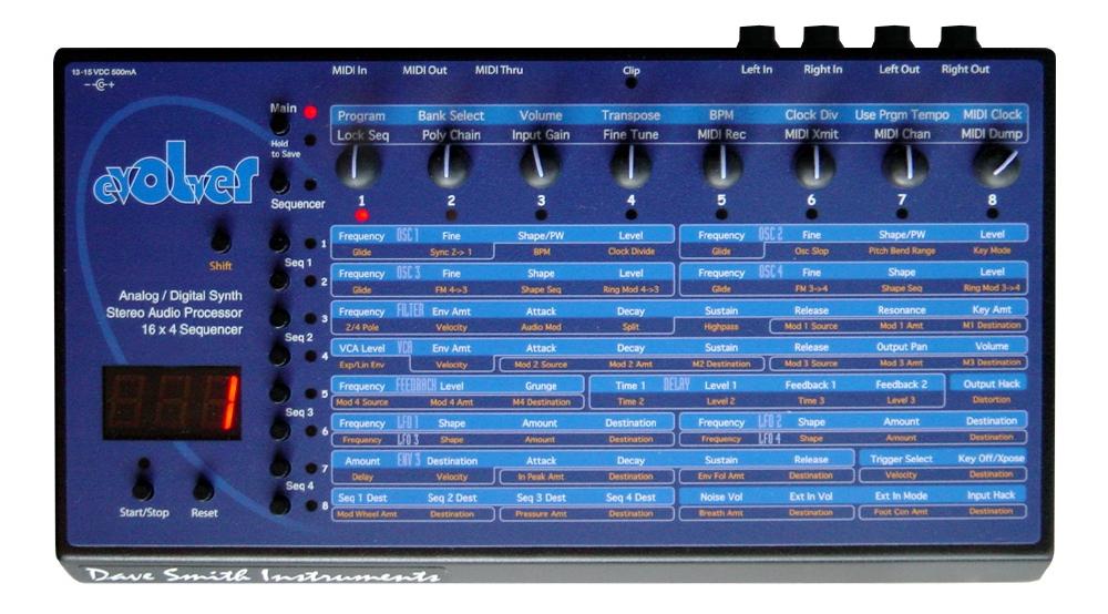 Синтезаторы и рабочие станции Dave Smith Instruments Evolver
