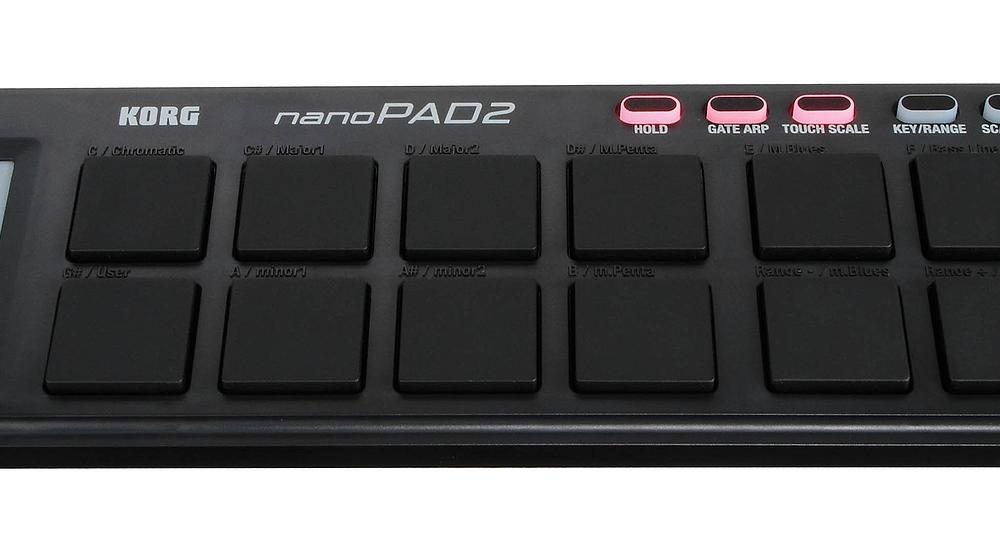 DJ-контроллеры Korg nanoPAD2