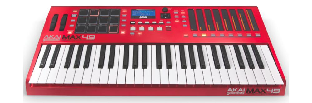 Midi-клавиатуры Akai Max49