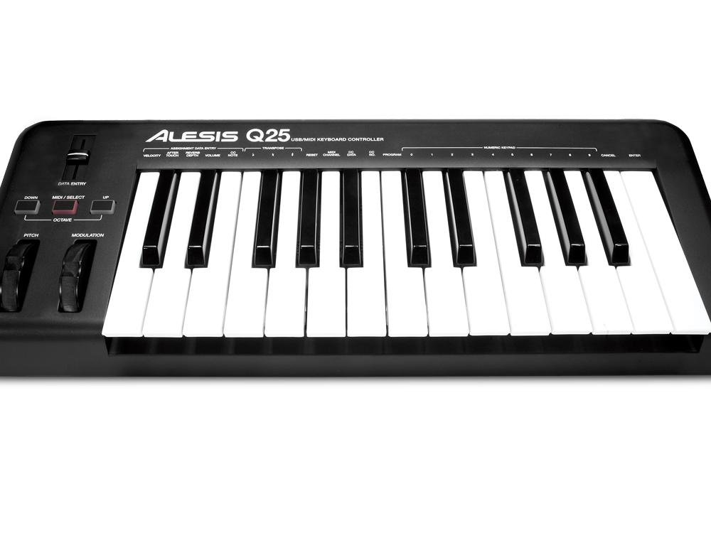 Midi-клавиатуры Alesis Q25
