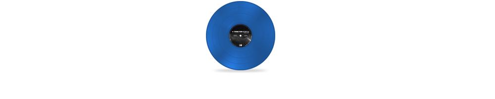 Пластинки с тайм-кодом Native Instruments TIMECODE MK2 Blue
