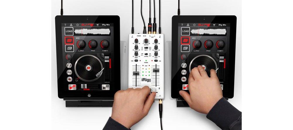 Apple accessories  IK Multimedia iRig MIX
