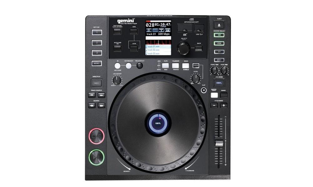 CD/USB-проигрыватели Gemini CDJ-700