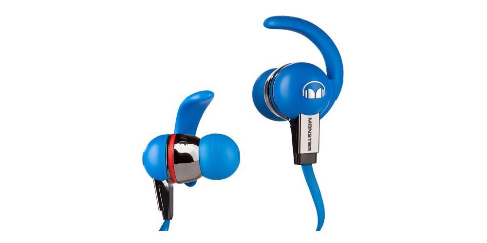 Наушники для плеера Monster Beats iSport Blue