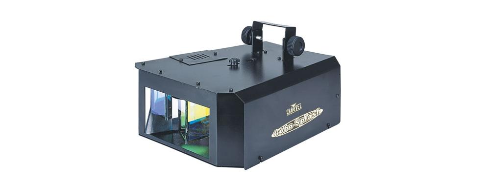 Простые приборы со звуковой активацией CHAUVET Gobo Splash