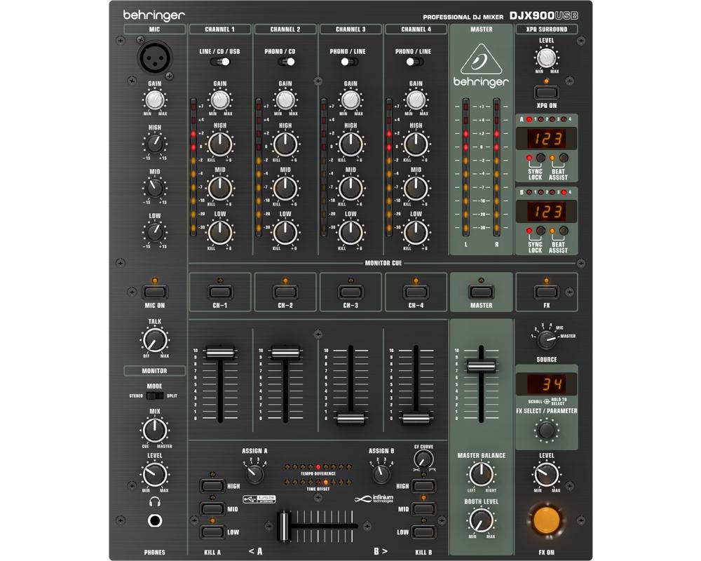 DJ-микшеры Behringer DJX900USB