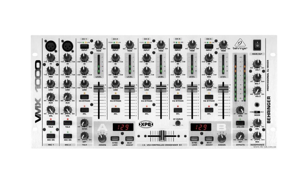 DJ-микшеры Behringer VMX1000