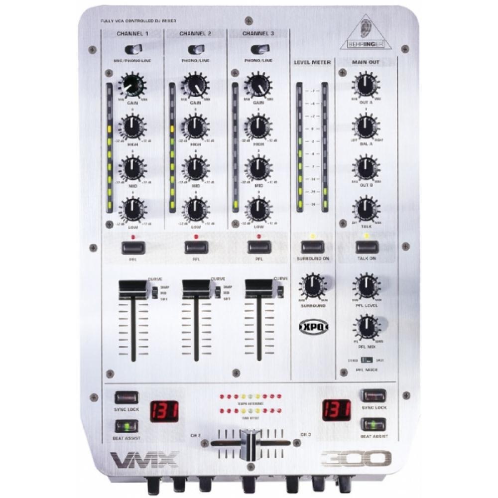 DJ-микшеры Behringer VMX300