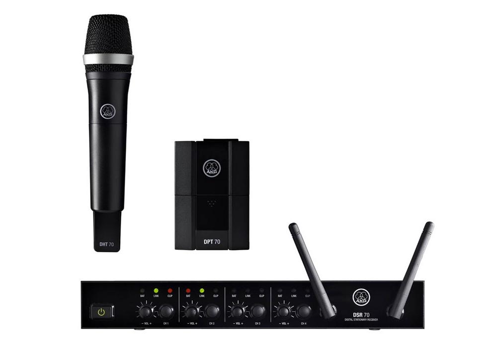 Все Микрофоны AKG DMS70QVocInsMSet