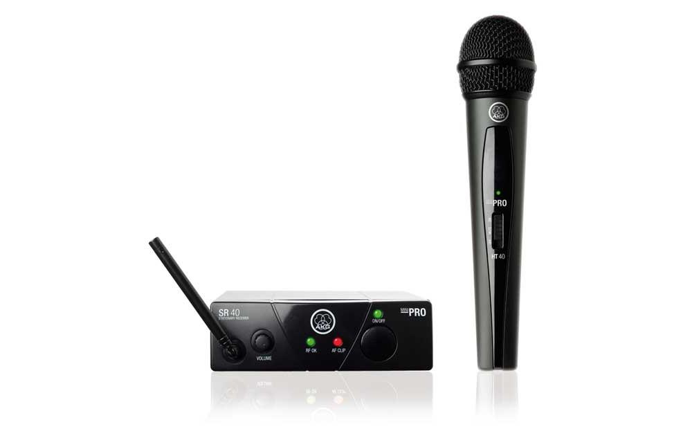 Беспроводные микрофонные радиосистемы AKG WMS 40 Mini Vocal Set