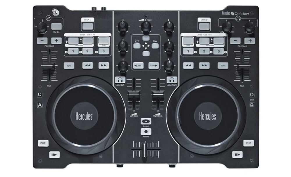 DJ-контроллеры Hercules DJ 4Set