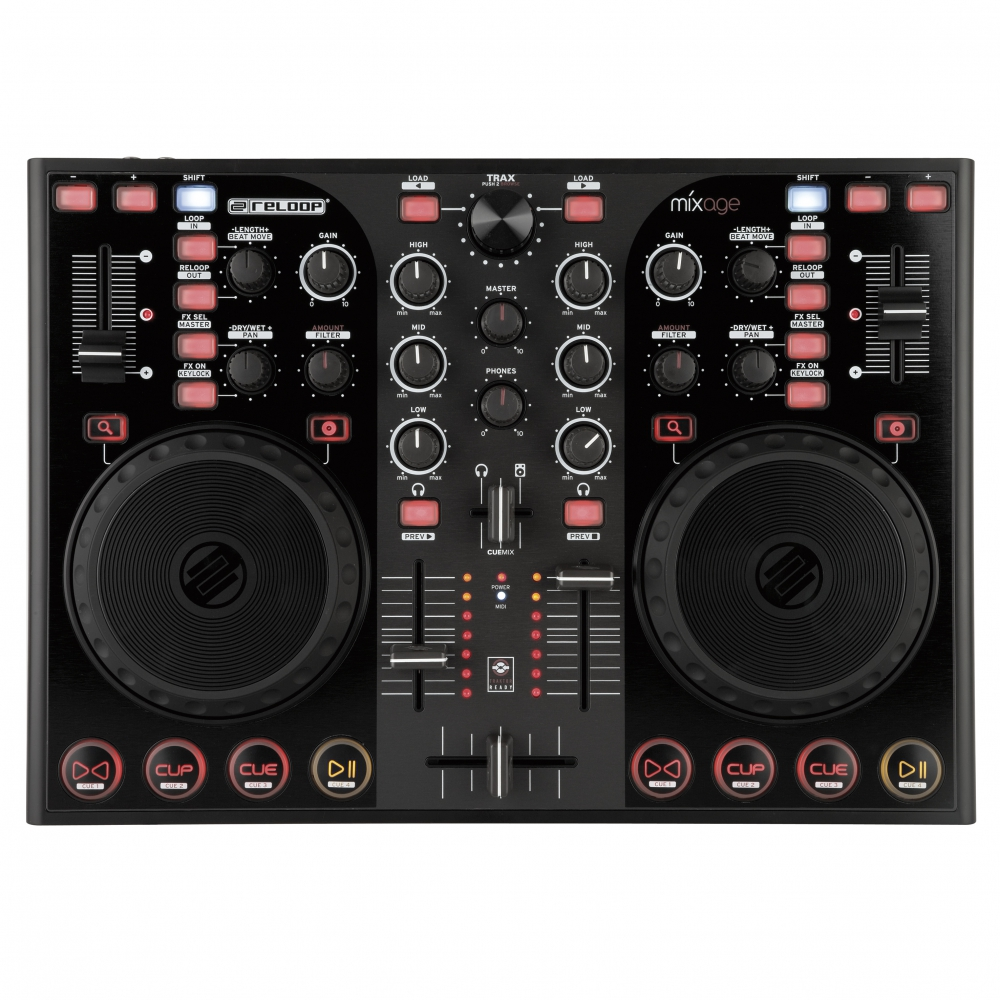 DJ-контроллеры Reloop Mixage IE